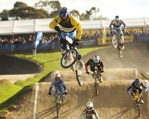 BMX racing.